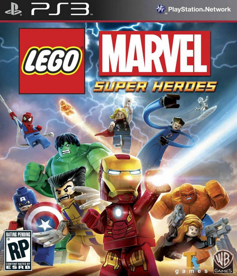 Lego Marvel Super Heroes (ps3) торрент