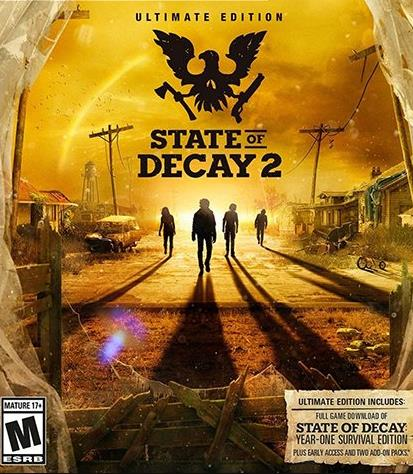 State of Decay 2  2018 PC Русский, RePack R.G. Механики торрент