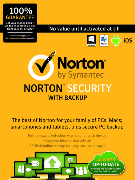 Norton 360 coupons 2018